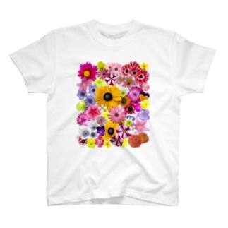 花満開 T-shirts