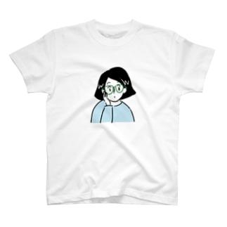 GWちゃん(Tシャツ水色バージョン) T-shirts