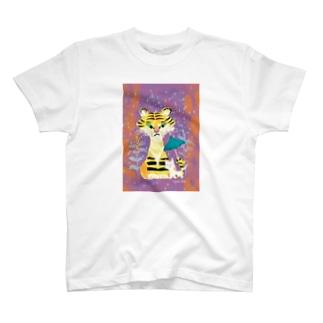 tiger & cat T-shirts
