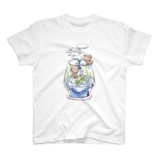 もくもくフロート工場 T-shirts