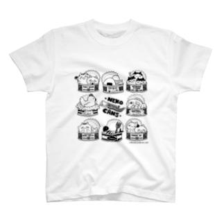 NEKO CANS T-shirts