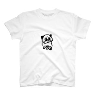 Nicopain_pugのお●む風のパグ T-shirts