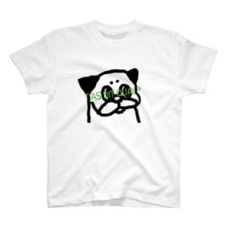 要注意パグ T-shirts