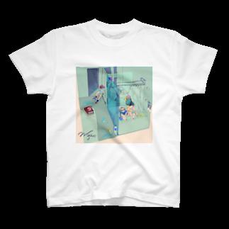 みそばたァ ᙏ̤̫のなつのぼくたちだったね T-shirts