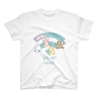 ワイワイスポット T-shirts
