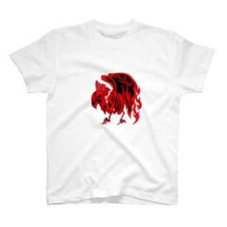 炎烏 T-shirts