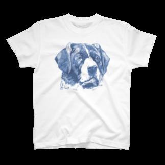 自分が着たいと思うTシャツを作るのビンテージわんちゃんTシャツ T-shirts