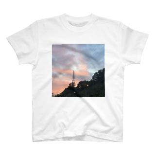 スッキリした日の夕方 T-shirts