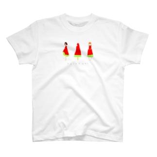 suikabar_girls T-shirts