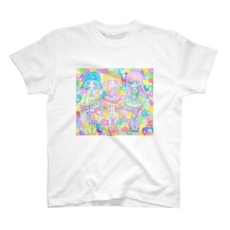 三人少女! T-shirts