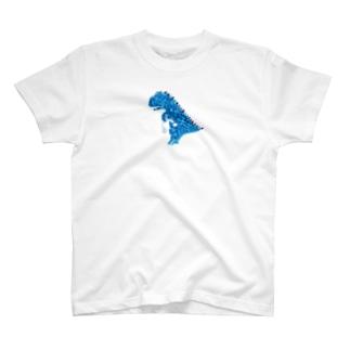 黒いiPhone用ケース T-shirts