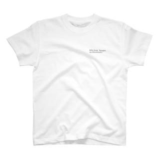Holly_hock. by.aquaミニロゴTシャツ T-shirts