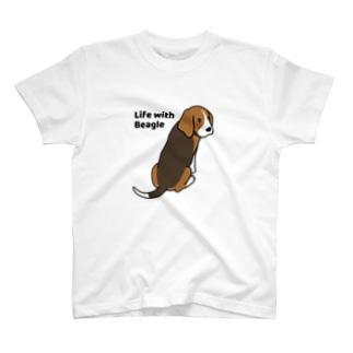 ビーグル2 T-shirts