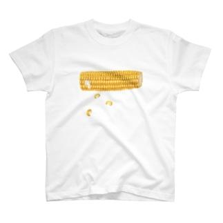 とうもろこし T-shirts