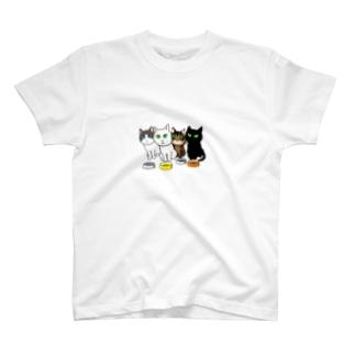 おなかすいたにゃ~ T-shirts