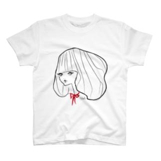 リボンちゃん@Takako T-shirts