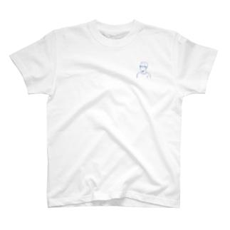 角刈りの人 T-shirts