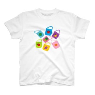 くだものバッグ T-shirts