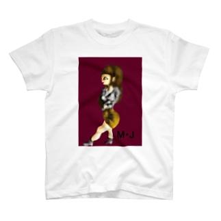 スリム女の子 T-shirts
