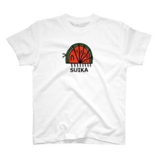 すいかむし T-shirts