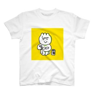 酒とスマホ T-shirts