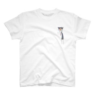 サクッ!さばりこさん。 T-shirts