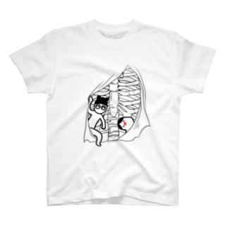 くますくさんとおじぎさん T-shirts