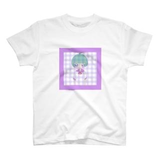 雨飴のあいうえお T-shirts