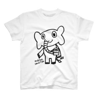 FIKA好きな象 T-shirts