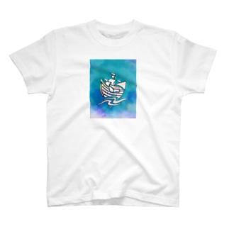 ハコブネ T-shirts