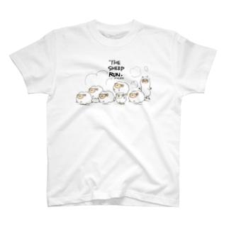 ひつじが走る。 T-shirts