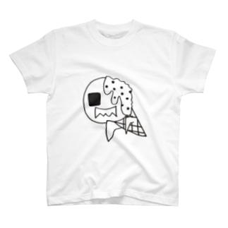 アイスべきゾンビ T-shirts