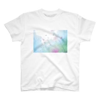 くまことコスモス T-shirts