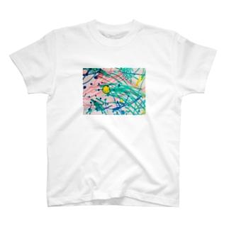 息子のペンアート(かぼちゃ) T-shirts