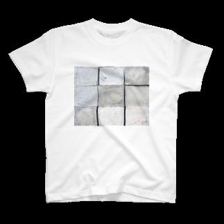 DAIGAKUKUNのコンクリート T-shirts