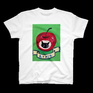 クロネコDay'sの黒丸ちゃんの実 T-shirts