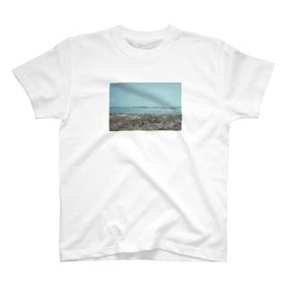 海と浜、film T-shirts