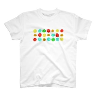 カラフルラックン T-shirts