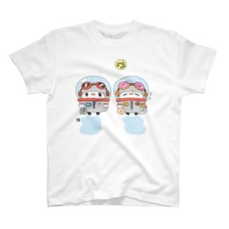 宇宙服のことり T-shirts