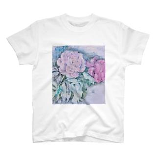 芍薬 T-shirts