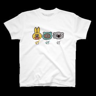 たぬきゅんショップの誰推し?【箱】 T-shirts