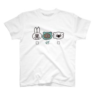 誰推し?【たぬきゅん】 T-shirts