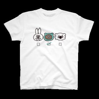 たぬきゅんショップの誰推し?【たぬきゅん】 T-shirts
