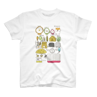 ハムスターの飼い方 T-shirts