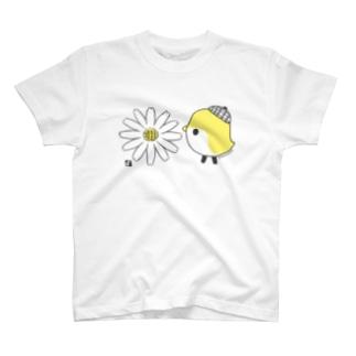 デイジーと ことりTシャツ T-shirts