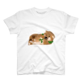 しば(どでか) T-shirts