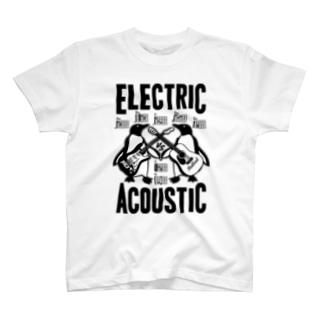 ELECTRIC×ACOUSTIC PENGUIN T-shirts