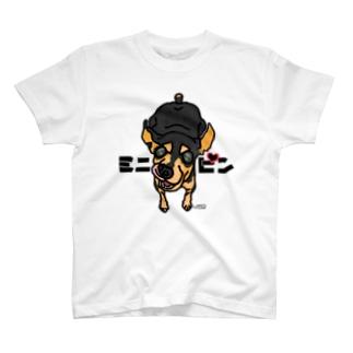 チラホラ白髪ミニピン T-shirts