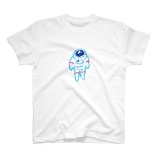 宇宙服の人(カラー) T-shirts