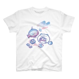 ちーくんのゲーム ファンシー T-shirts